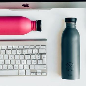 Trinkflaschen aus Edelstahl