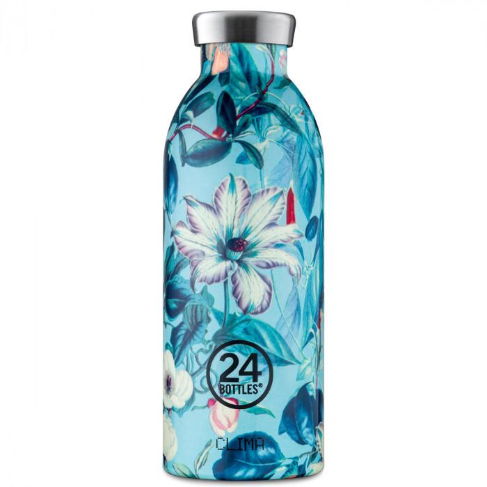 Thermosflasche 0,5L CLIMA aus Edelstahl, Flower - Eden