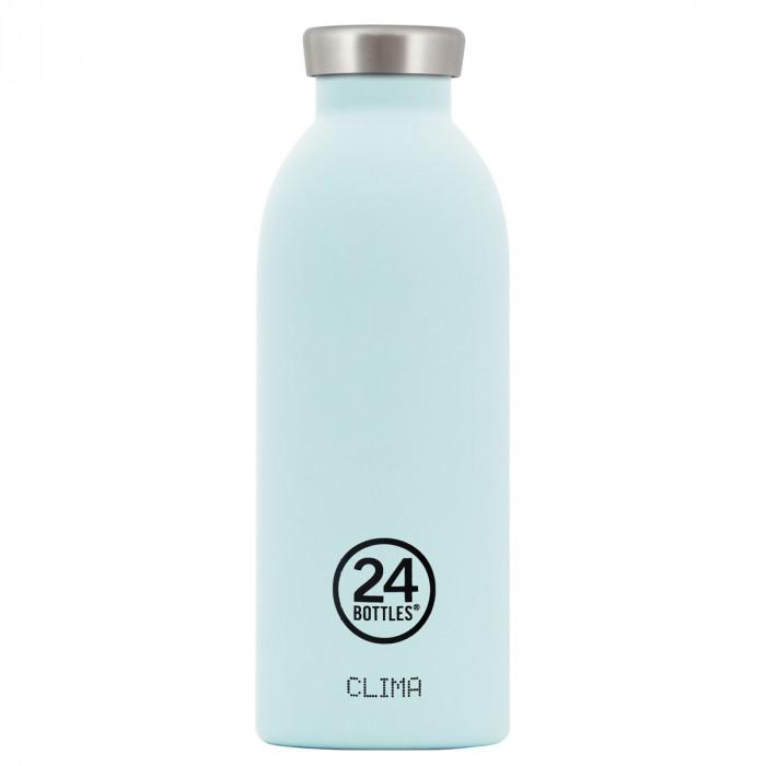 24Bottles Thermosflasche 0,5L CLIMA aus Edelstahl, cloud blue (hellblau)