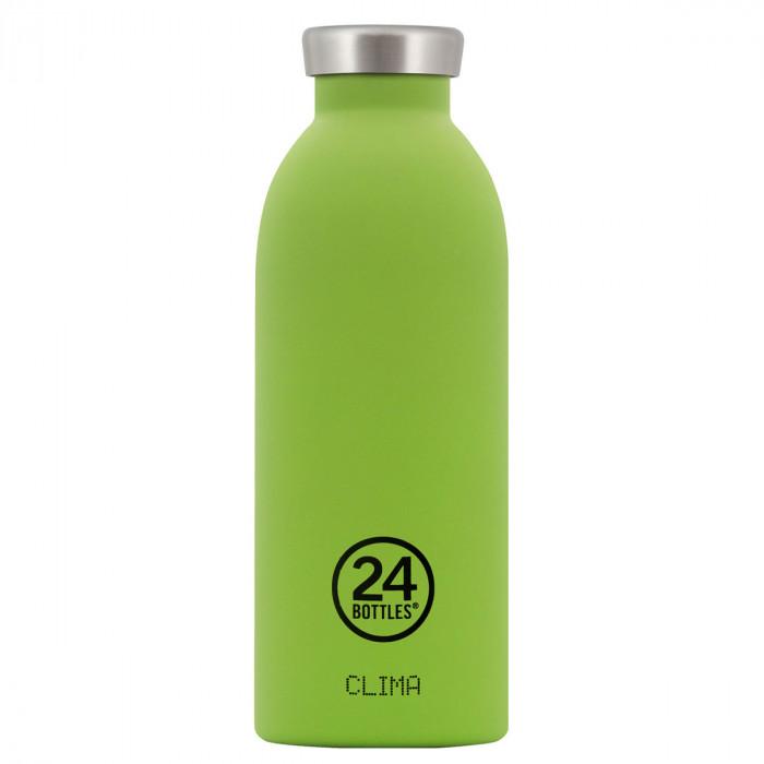 24Bottles Thermosflasche 0,5L CLIMA aus Edelstahl, lime grün