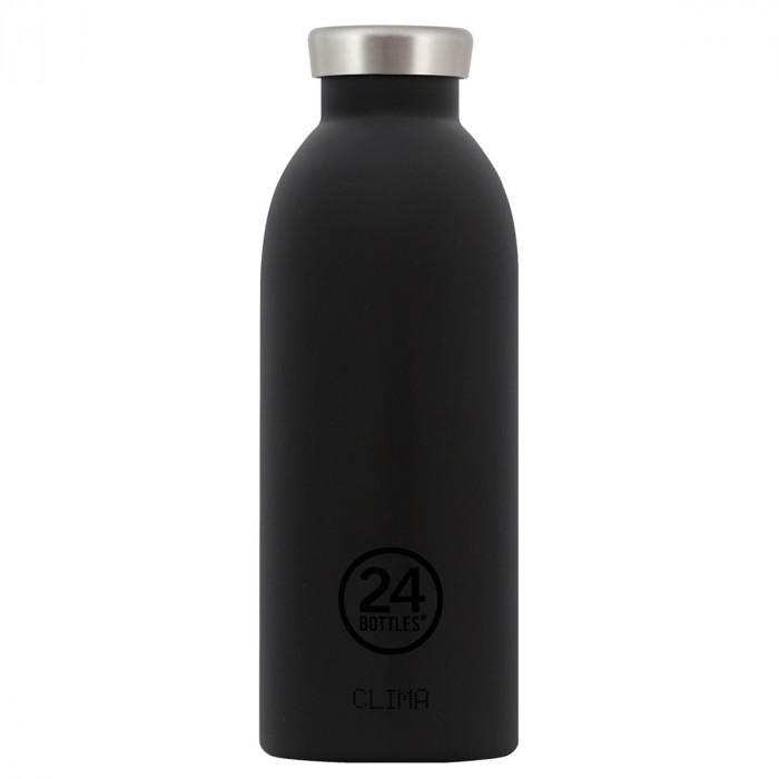 24 Bottles Thermosflasche 0,5L CLIMA aus Edelstahl, schwarz