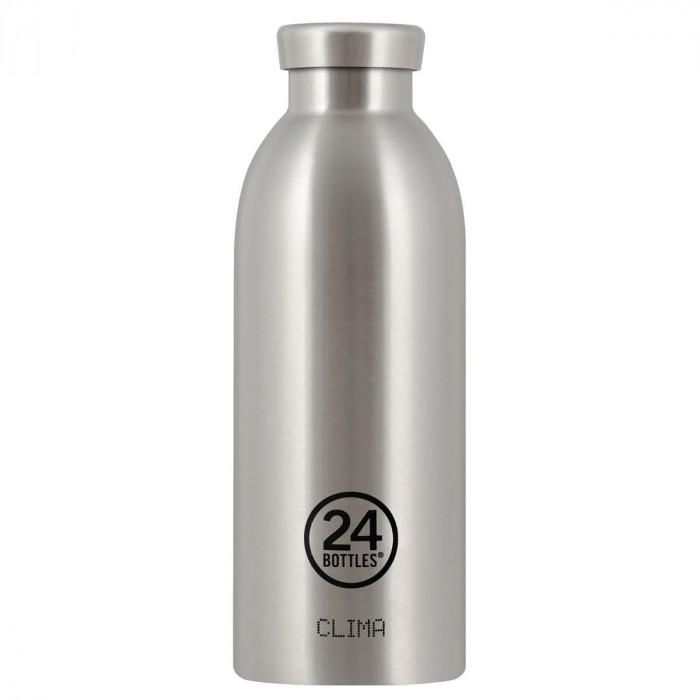 Thermosflasche / Isolierflasche CLIMA von 24Bottles - Steel - Edelstahl