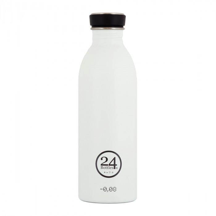 Trinkflasche 0,5 Liter weiß (ice white)von 24Bottles.