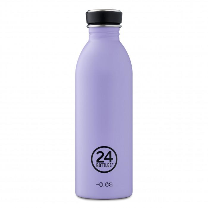 Trinkflasche 0,5 l URBAN aus Edelstahl, stone erica