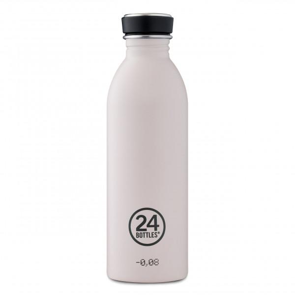 Trinkflasche 0,5 l URBAN aus Edelstahl, stone gravity