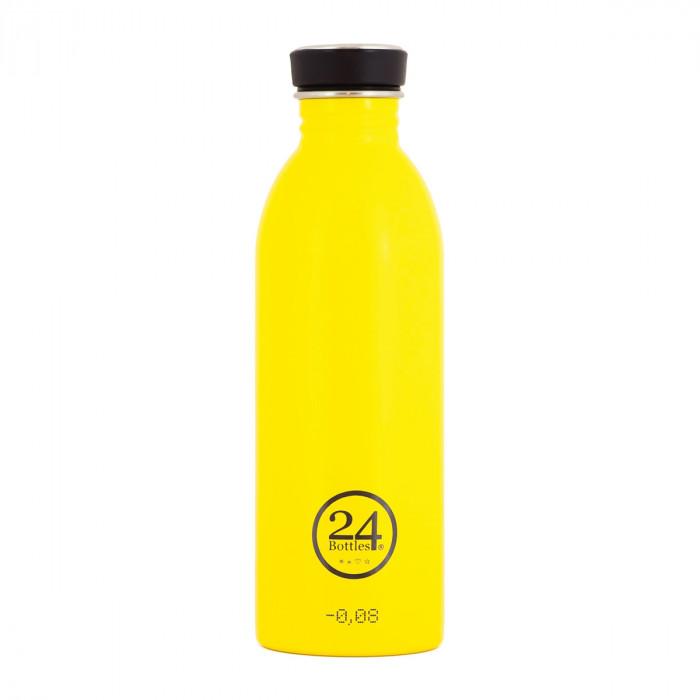 Trinkflasche 0,5L URBAN aus Edelstahl, taxi yellow (helles gelb)