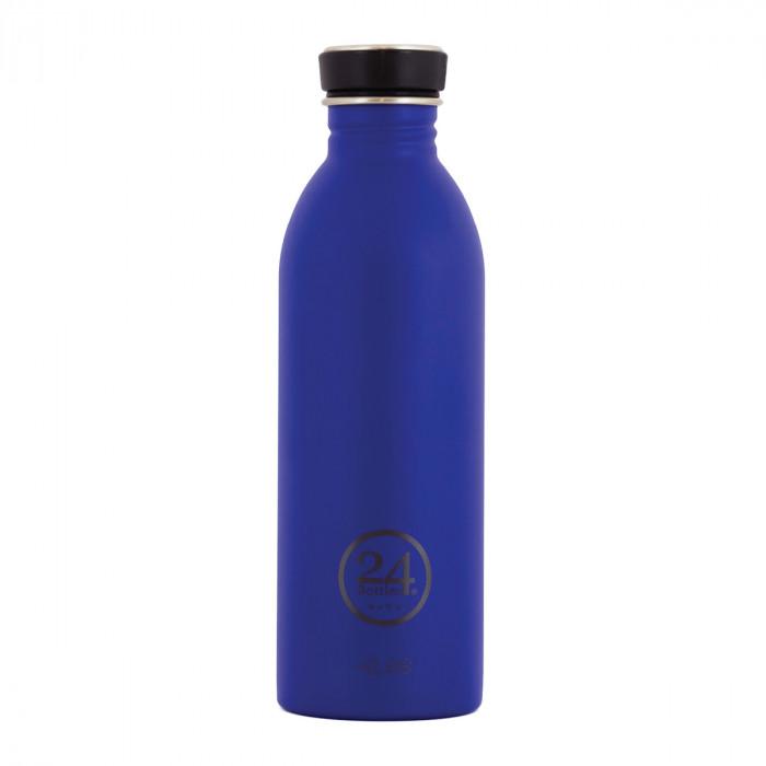 24Bottles Trinkflasche 0,5L URBAN aus Edelstahl, dunkelblau (gold blue)