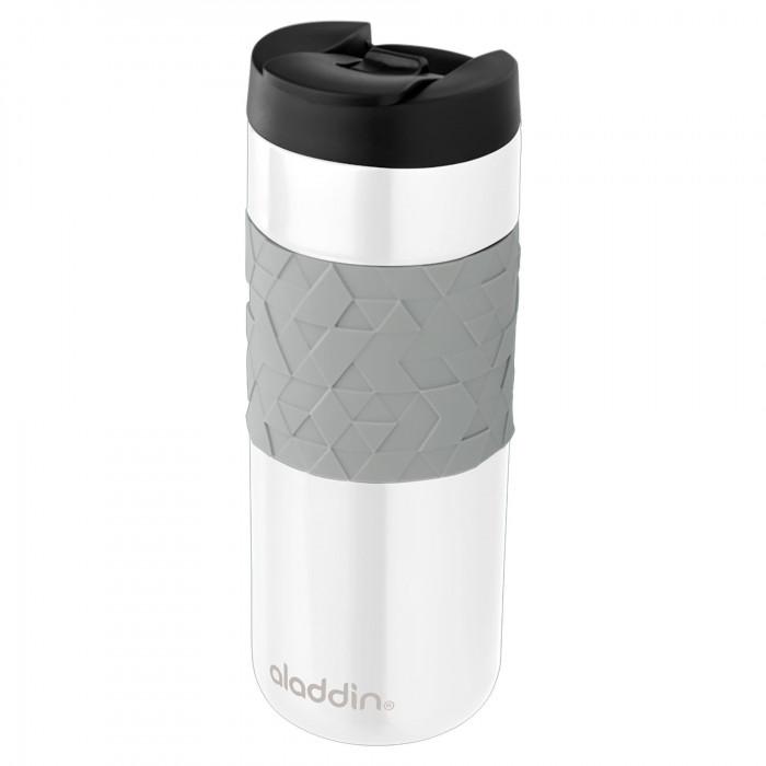 Thermobecher Easy-Grip Leak Lock 0,47 L weiß - Isolierbecher - Coffee to go Becher - aladdin Design - Thermosbecher - Kaffeebecher