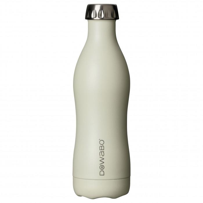 Isolierflasche Edelstahl 500 ml, pina colada - DOWABO Trinkflasche beige - Cocktail Serie