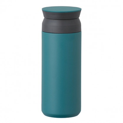 Thermobecher 500 ml - Isolierbecher to go - Coffee to go Becher - Travel Tumbler - KINTO Design - petrolblau