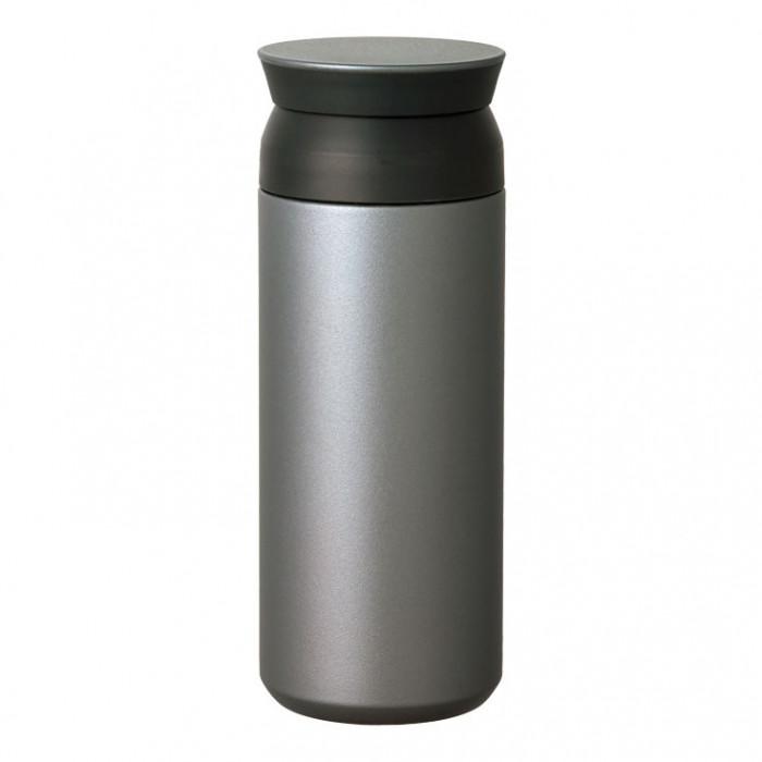 Travel Tumbler Isolierbecher silber vom japanischen Hersteller KINTO. Thermobecher to go aus doppelwandigem Edelstahl. BPA-frei, auslaufsicher, robust, ...