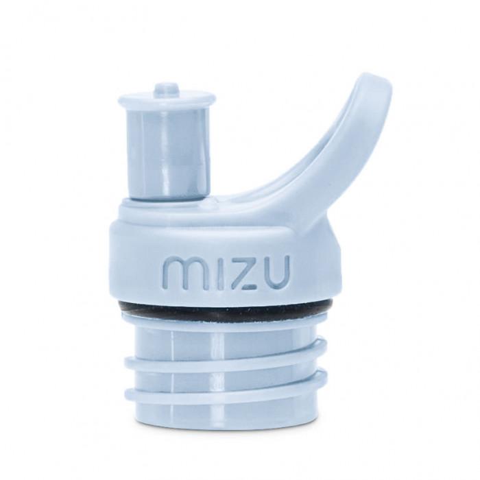 Sport Cap ice blue für MIZU Trinkflasche M4, M5 oder M8. Push & Pull Sport-Schnelltrinkverschluss von MIZU.