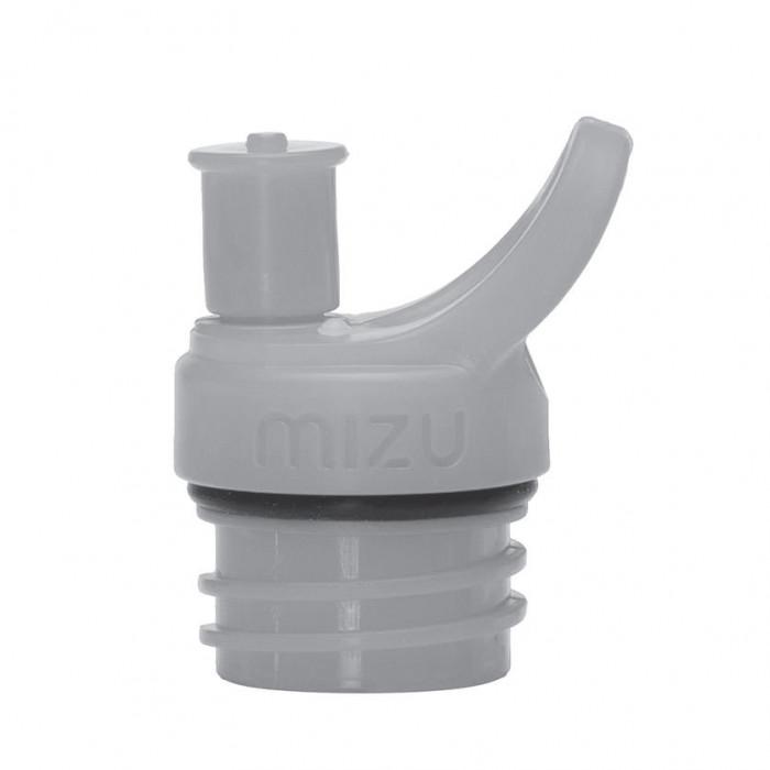 Sport Cap Push & Pull Flaschenverschluss in hellgrau für MIZU Trinkflasche M4, M5 oder M8.