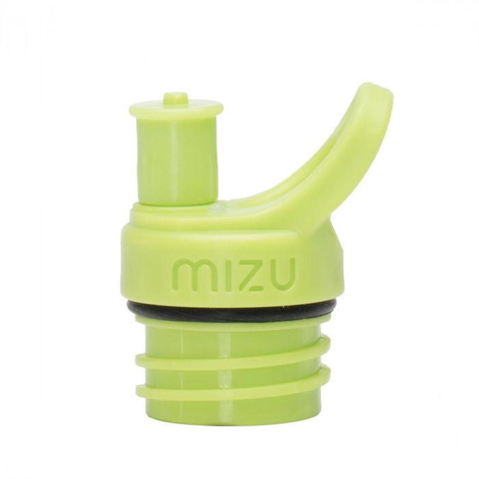 Sport Cap in hellgrün von MIZU - Trinkflaschen Verschluss Push and Pull