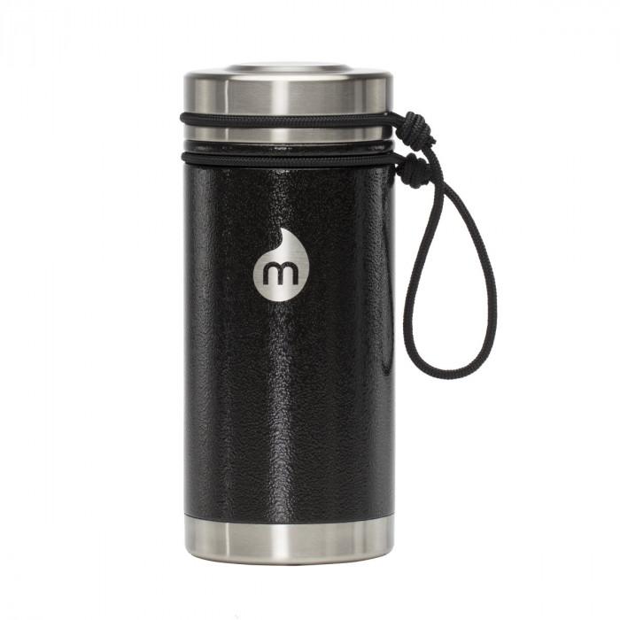 Thermobecher to go V5 Edelstahl 450 ml, schwarz - MIZU Design