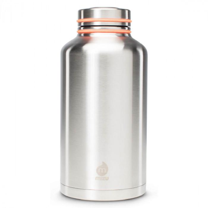 Große Thermosflasche V20 Edelstahl 2000ml - MIZU Design
