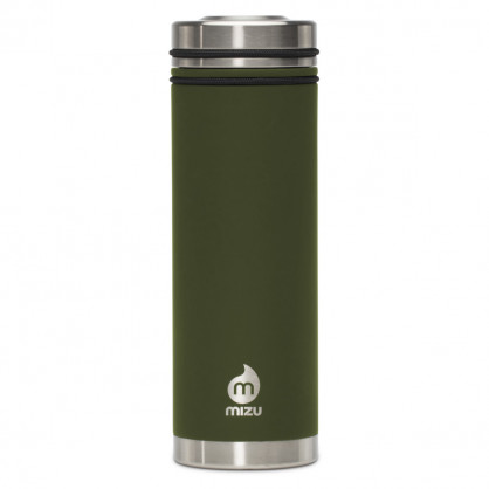 MIZU Isoliertrinkflasche V7 olivegrün - Thermosflasche Enduro Army Green V7
