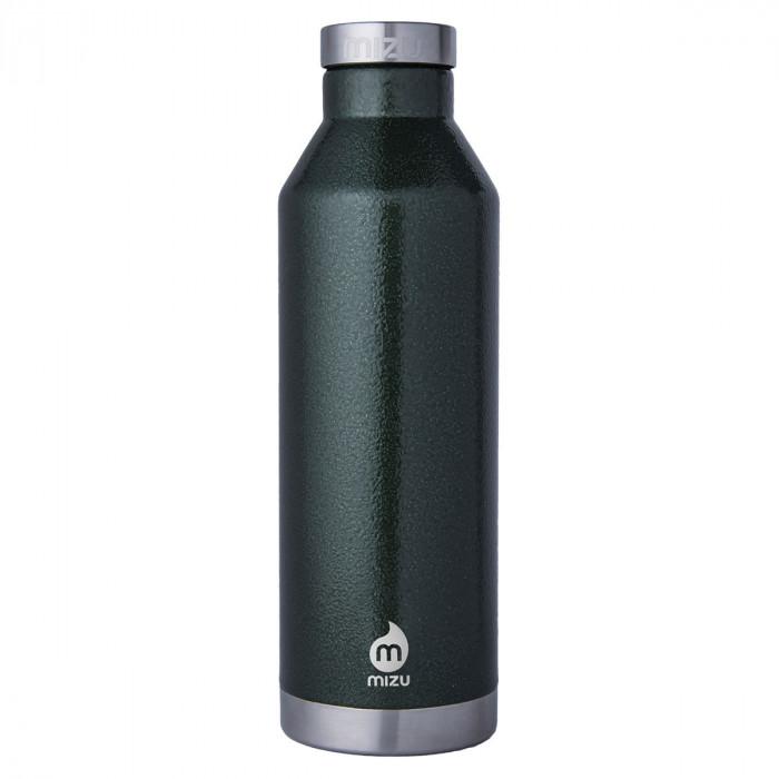 Thermosflasche V8 aus Edelstahl von MIZU Design - 800 ml Trinkflasche - Hammer Army Green