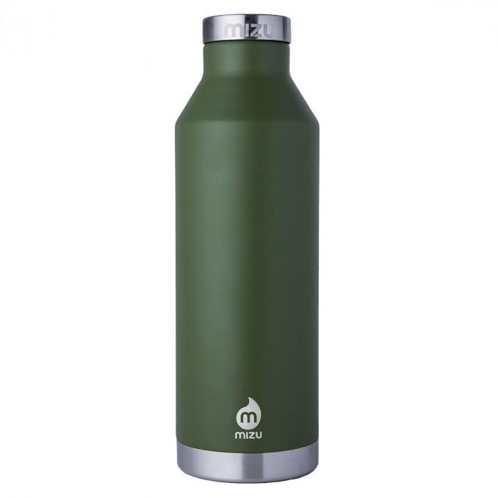 Enduro Thermosflasche V8 aus Edelstahl von MIZU - 800 ml - Trinkflasche - olivegrün