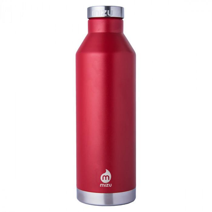 Thermosflasche V8 aus Edelstahl von MIZU - 800 ml - Trinkflasche rot