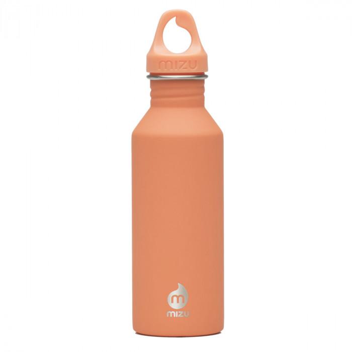 M5 Trinkflasche Enduro aus Edelstahl von MIZU Design - Variante Peach - orange - 0,5 Liter