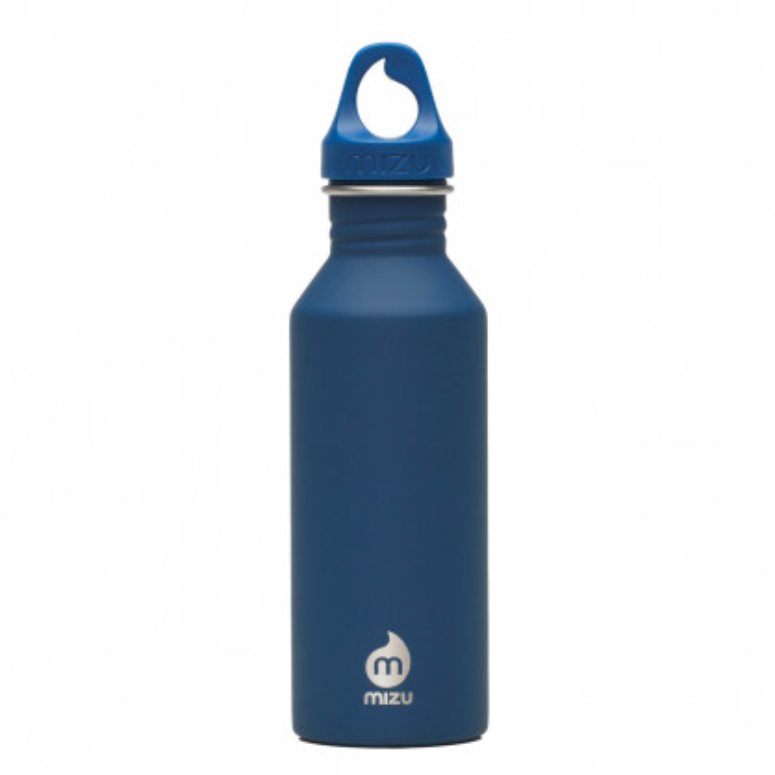 Enduro Trinkflasche M5 in dunkelblau von MIZU Design - 500 ml - Edelstahl.