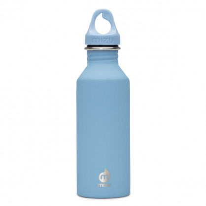 Enduro Trinkflasche M5 in hellblau von MIZU Design - 500 ml - aus Edelstahl.