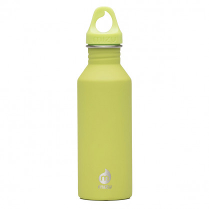 M5 Trinkflasche Enduro aus Edelstahl von MIZU Design - Variante lime - hellgrün - 0,5 Liter