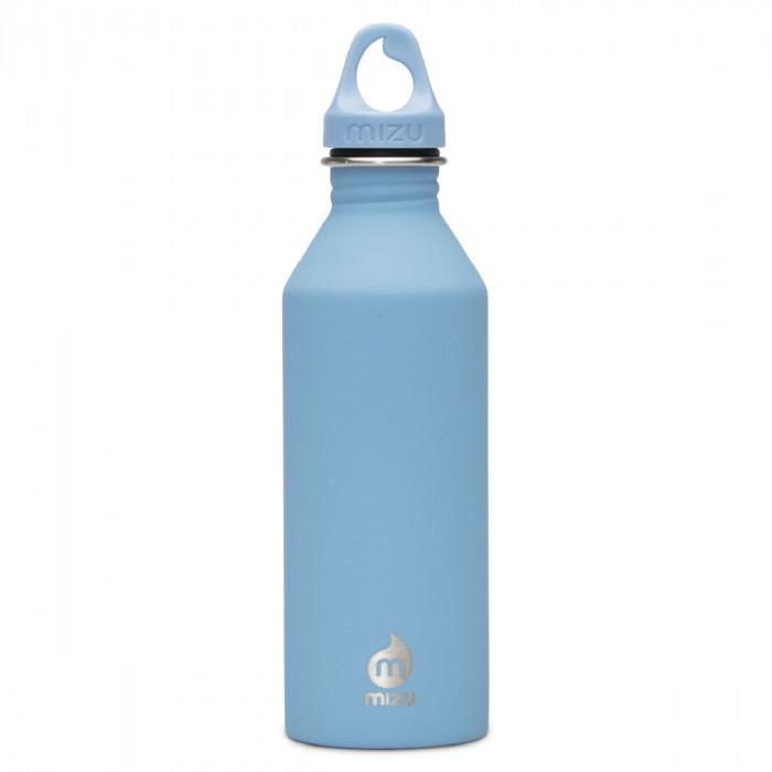 Edelstahl Trinkflasche M8 Enduro in hellblau von MIZU Design.