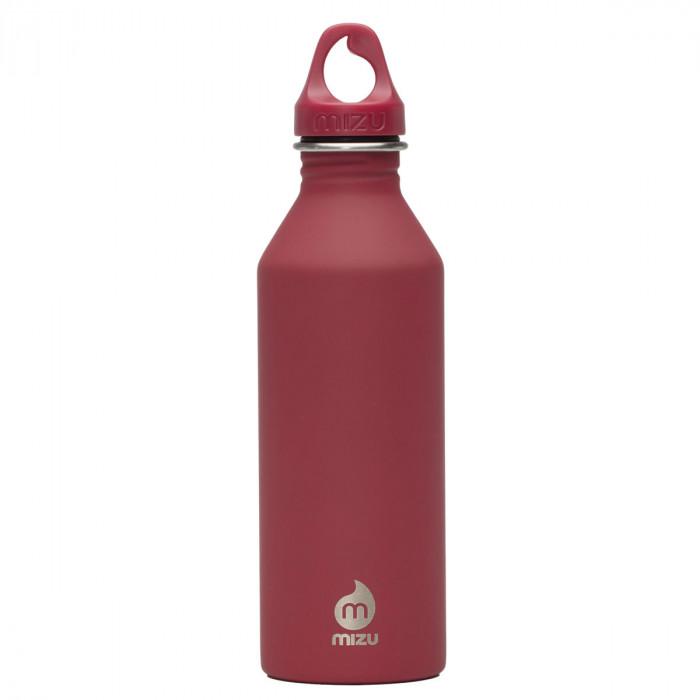 Enduro Edelstahl Trinkflasche M8 in rot von MIZU Design.