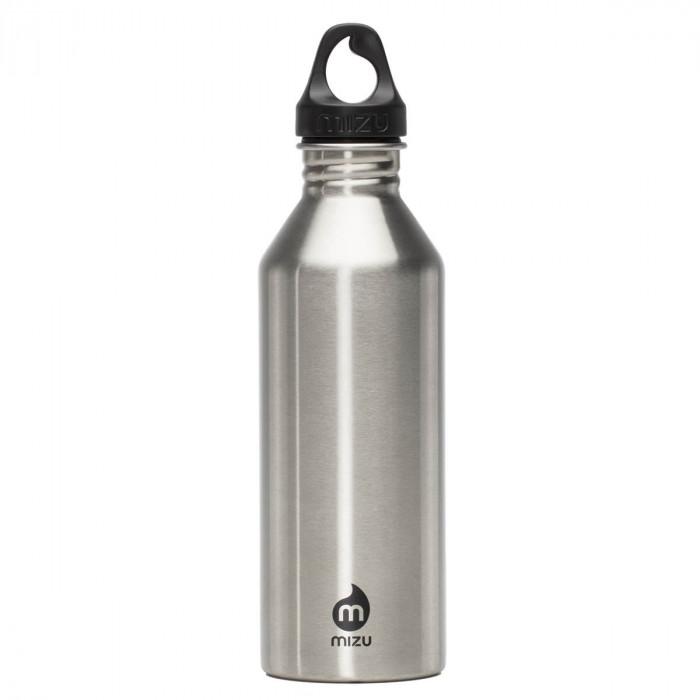 Trinkflasche M8 Edelstahl 800 ml, steel