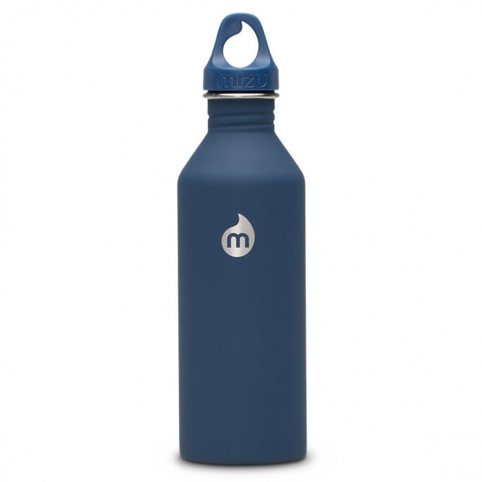 Trinkflasche M8 Enduro 800 ml Edelstahl, dunkelblau