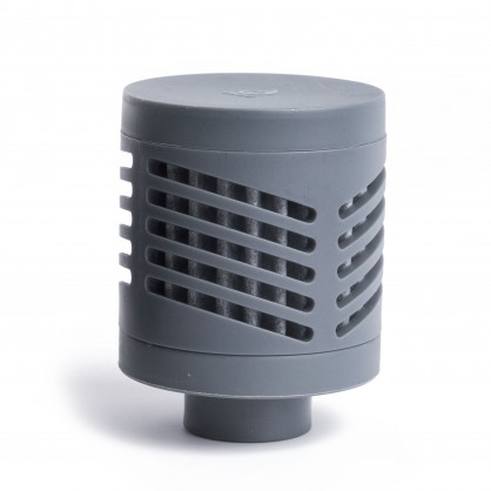Adventure Filter 360 von MIZU. Der Wasserfilter für die Thermosflaschen von MIZU entfernt dank Nano-Filter 99,999 % der Verunreinigungen im Wasser.