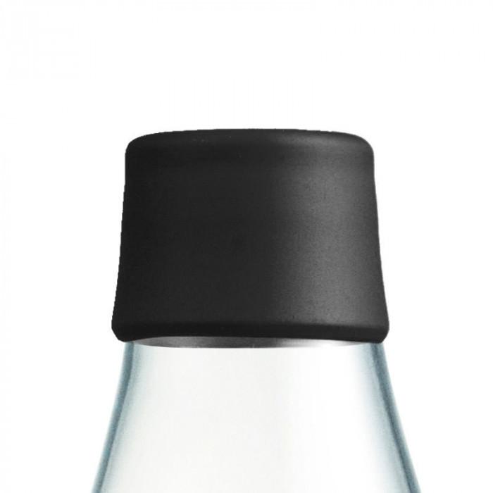 Retap Deckel schwarz - passend für alle Design-Trinkflaschen von Retap.