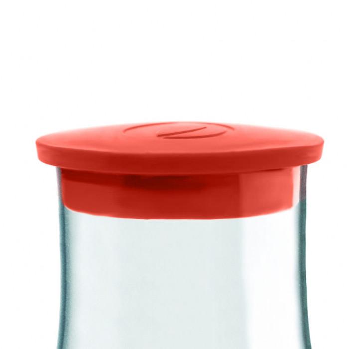 Retap Glaskaraffe Deckel, Red (rot)