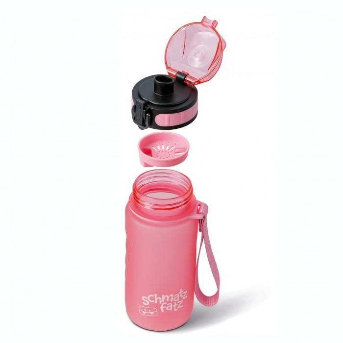 schmatzfatz trinkflasche kinder auslaufsicher klick verschluss 350 ml rosa. Black Bedroom Furniture Sets. Home Design Ideas