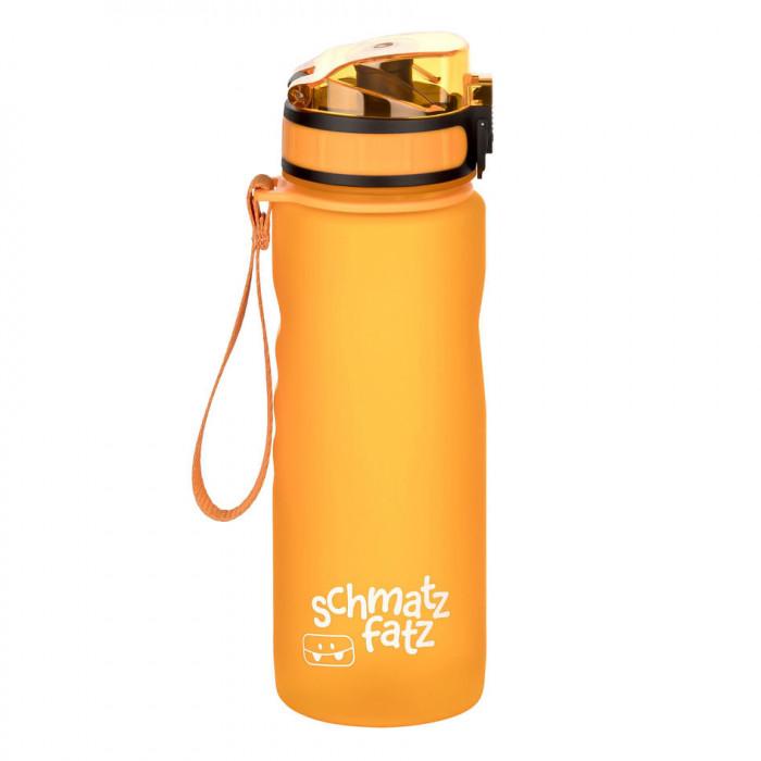 Trinkflasche Kinder auslaufsicher, Klick-Verschluss - 500 ml orange
