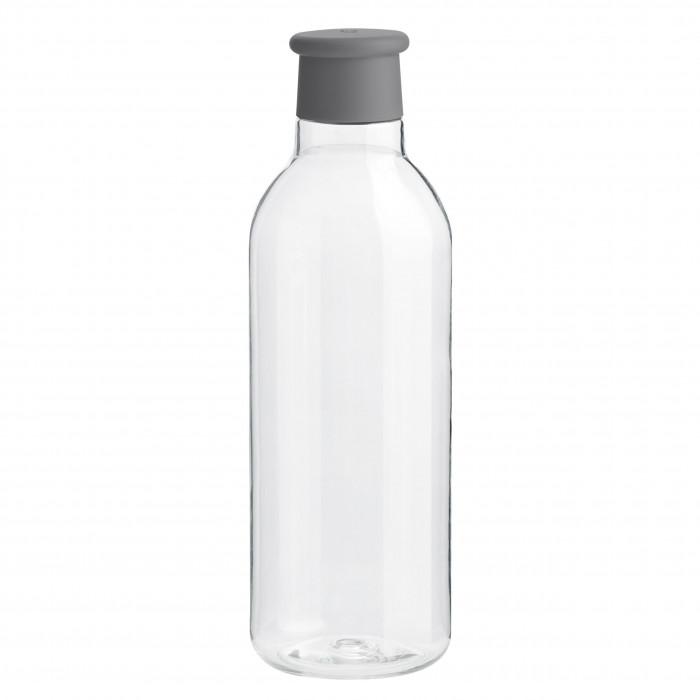 Stylische Trinkflasche grau von RIG-TIG by Stelton. Trinkflasche 0,75 l DRINK-IT: BPA-frei, auslaufsicher ... aus hochwertigen Tritan Kunststoff.