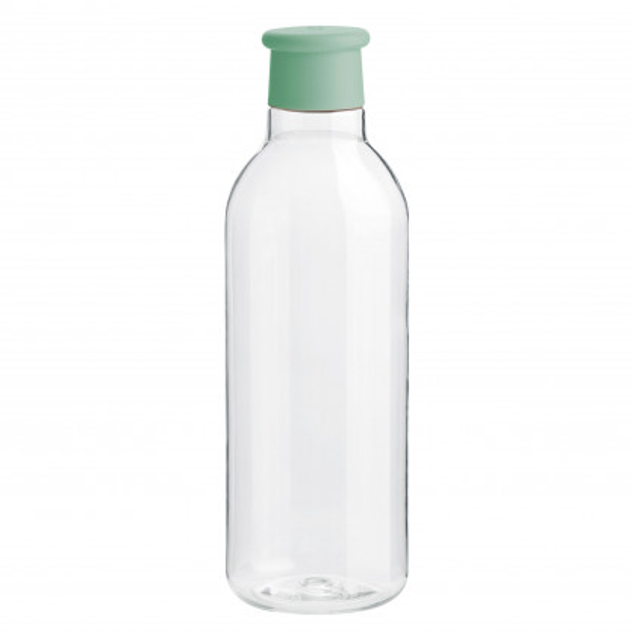 Stylische Trinkflasche grün von RIG-TIG by Stelton. Trinkflasche 0,75 l DRINK-IT: BPA-frei, auslaufsicher ... aus hochwertigen Tritan Kunststoff.
