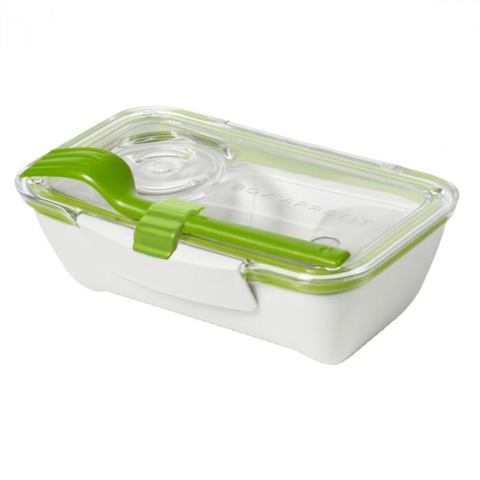 Lunchbox / Bento Box mit Gabel - BOX APPETIT - black+blum