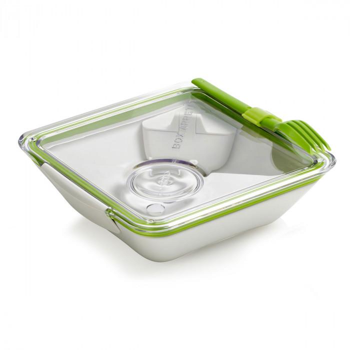 Lunchbox Box Appetit mit Gabel und 2 Zusatzbehältern von black+blum