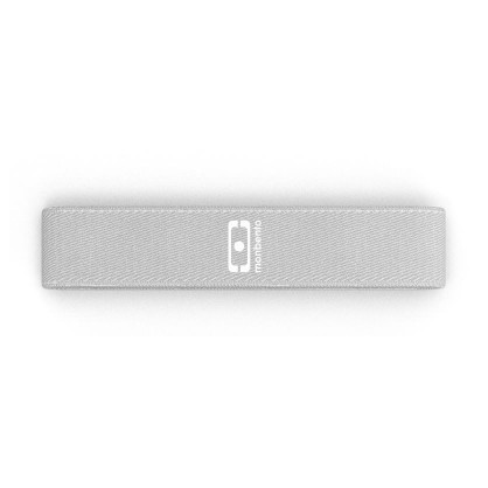 Monbento Ersatzgummiband Gewebe für Lunchbox MB ORIGINAL in cotton hellgrau. Gummizugband für Lunchboxen.