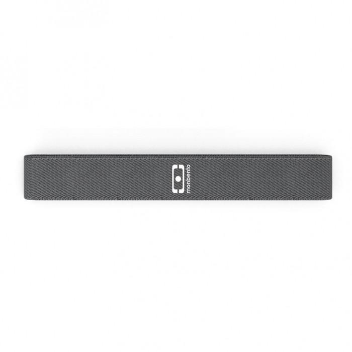 Langes Zugband elastisch für Lunchbox MB Square von monbento. Elastisches, graues Gummizugband von monbento an MB ORIGINAL Lunchbox.