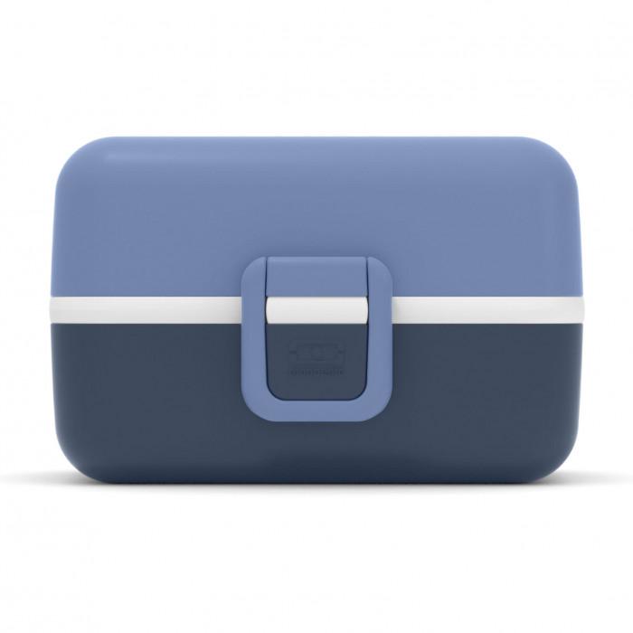 Blaue Kinderlunchbox MB TRESOR von monbento. Lunchbox mit Fächern. Auslaufsicher, Unterteilungen, BPA-frei ... Lunchbox für Kinder.