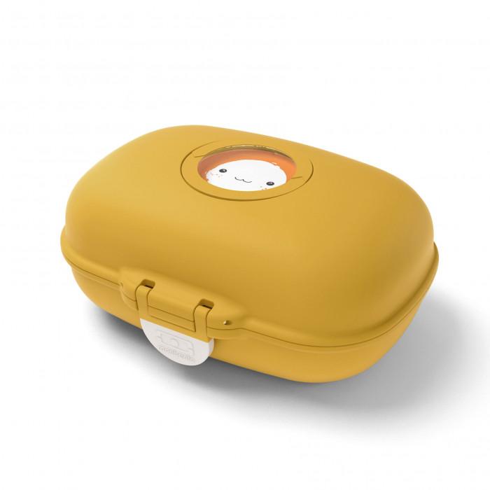 Snackbox MB GRAM: die kleine Kinderlunchbox von monbento in moutarde (senfgelb)