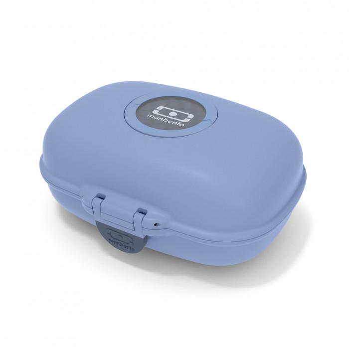 Kinderlunchbox Snackbox MB GRAM infinitiy blau - Lunchdose für Kinder von monbento design.
