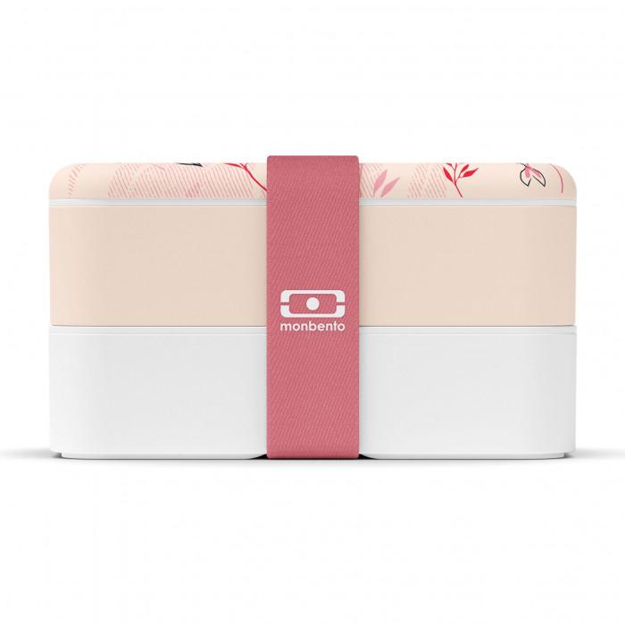 MB ORIGINAL Lunchbox - Bento Box von monbento mit Koi-Karpfen Motiv. Auslaufsichere Lunchbox graphic Ambition by monbento.