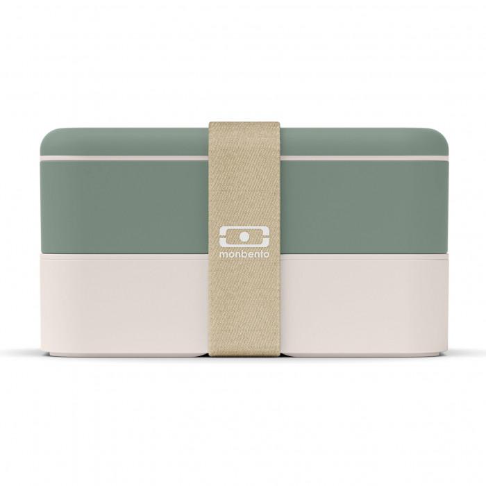 MB ORIGINAL Natural grün - Bento Box von monbento - sorgt für Genuss auf 2 Etagen! Auslaufsichere Lunchboxen by monbento.