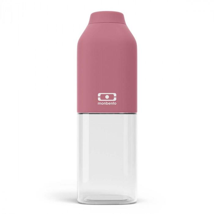 Rote monbento Trinkflaschen MB POSITIVE blush - auslaufsicher, spülmaschinenfest, BPA-frei...