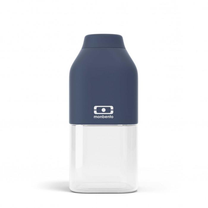 monbento Trinkflasche to-go MB POSITIVE S, 330 ml - blau - Kunststoff Trinkflasche - Kindertrinkflasche leicht - auslaufsicher - BPA-frei ...